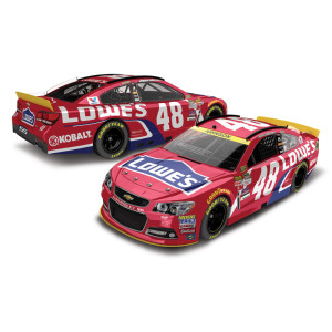 Jimmie Johnson #48 1:64 Scale 2015 Lowe's Red Vest Diecast
