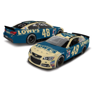 Jimmie Johnson 2015 #48 Darlington Throwback 1:24 Scale Nascar Sprint Cup Series Die-Cast