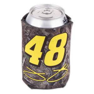Jimmie Johnson Camo True Timber 12oz. Can Koozie