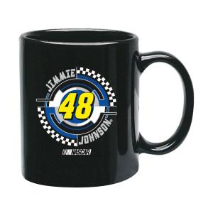 Jimmie Johnson #48 C-Handle Mug Black