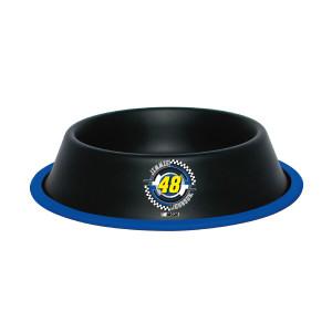 Jimmie Johnson #48 24 oz. Black Gloss Pet Bowl