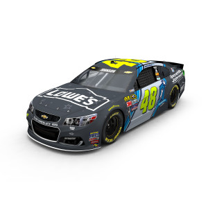 Jimmie Johnson #48 2016 Lowe's / Jimmie Johnson Foundation 1:24 Scale Nascar Sprint Cup Series Die-Cast