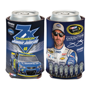 Jimmie Johnson 2016 NASCAR Sprint Cup Champion Can Cooler
