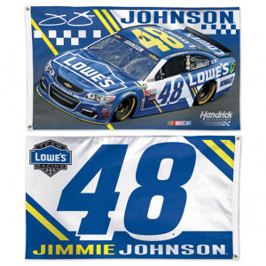 Jimmie Johnson 2-sided Flag - 3' x 5'