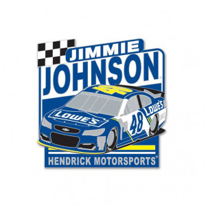Jimmie Johnson Collector Pin
