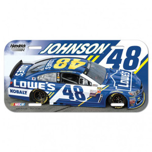 "Jimmie Johnson License Plate - 6"" x 12"""