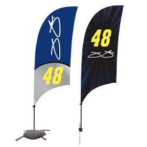Jimmie Johnson Sail Sign 7'
