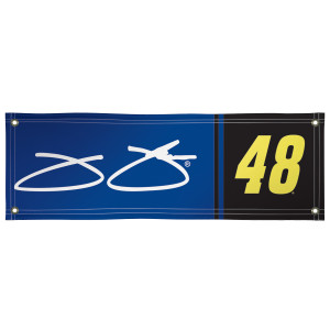 Jimmie Johnson Vinyl Banner 2' x 6'