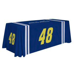 Jimmie Johnson Table Cover 6'