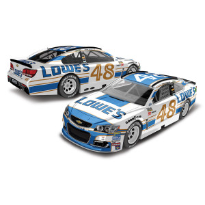 Jimmie Johnson 2017 NASCAR Cup Series No. 48 Lowe's Darlington Throwback 1:24 Die-Cast