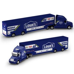 Jimmie Johnson 2017 NASCAR Lowe's Hauler 1:64