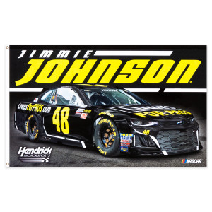 Jimmie Johnson #48 2018 NASCAR 2-sided Flag - 3' x 5'