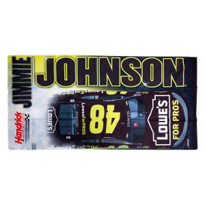 "Jimmie Johnson #48 2018 NASCAR NAPA Beach Towel - 30"" x 60"""