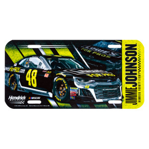 Jimmie Johnson #48 2018 NASCAR License Plate