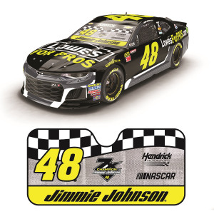Jimmie Johnson #48 2018 NASCAR Lowe's Sunshade