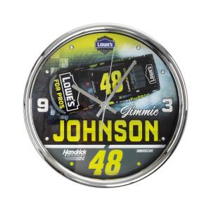 Jimmie Johnson #48 2018 NASCAR Chrome Clock