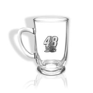 Jimmie Johnson #48 Pewter Created Bolero Glass