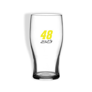 Jimmie Johnson #48 Pub Glass