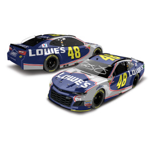 Autographed Jimmie Johnson 2018 NASCAR Lowe's Final Race in Homestead Elite 1:24 Die-Cast