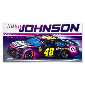#48 Jimmie Johnson NASCAR 2019 Spectra Beach Towel