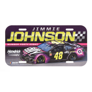 #48 Jimmie Johnson NASCAR 2019 License Plate