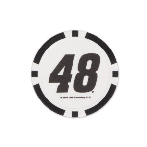 #48 Jimmie Johnson NASCAR 2019 Ball Marker