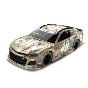 Jimmie Johnson 2019 #48 NASCAR Ally Patriotic Elite 1:24 - Die Cast