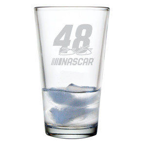 Jimmie Johnson Pint Glass