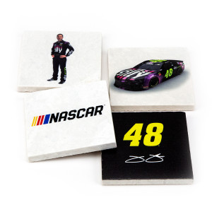 Jimmie Johnson Marble Coasters (4pk)