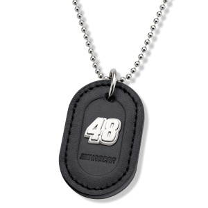 Jimmie Johnson Dog Tag with Chain