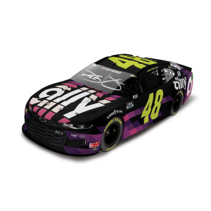 Autographed 2020 ally 1:24 Elite Diecast