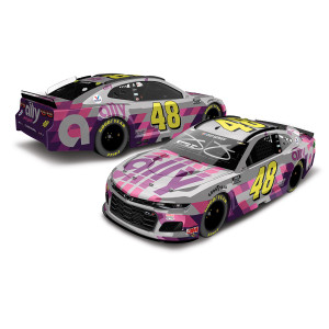 Jimmie Johnson Autographed No. 48 Ally Finale NASCAR Cup Series Elite 1:24 - Die Cast