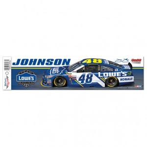 "Jimmie Johnson Bumper Strip - 3"" x 12"""