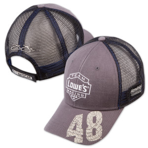Jimmie Johnson - Backstretch Distressed Trucker Hat by The Game