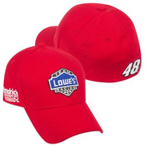 Jimmie Johnson New ERA #48 2015 Lowe's Red Vest Hat