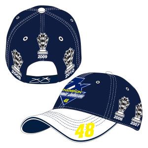 Jimmie Johnson 2016 NASCAR Multi-Champ Hat
