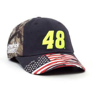 Jimmie Johnson 2018 #48 TrueTimber Patriotic Hat