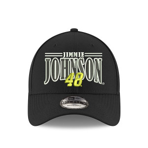 #48 NASCAR Jimmie Johnson New Era 9Fourty Black Johnson Hat