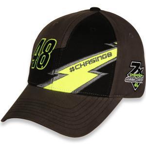Jimmie Johnson #48 2020 Lightning Adjustable Hat