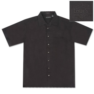 Jimmie Johnson Black Cabana Shirt