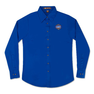 Team Lowe's Racing Ladies Long Sleeved Twill Shirt
