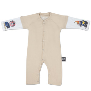 Jimmie Johnson #48 Layered Sleeper Onesie