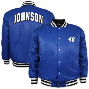 Jimmie Johnson Varsity Letterman Jacket