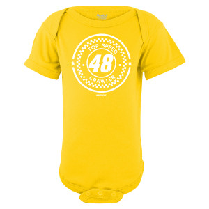 Jimmie Johnson #48 2018 Infant Top Speed Onesie T-shirt