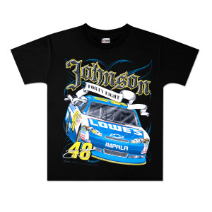 Jimmie Johnson #48 Lowes Youth Car T-Shirt