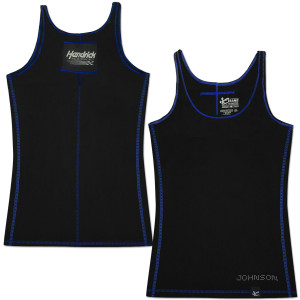 Jimmie Johnson #48 Lady Contrast Stitch Tank Black