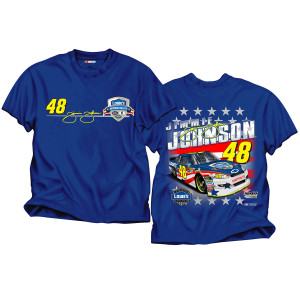 Pre-Order EXCLUSIVE Limited Edition Jimmie Johnson Summer Salute T-Shirt.
