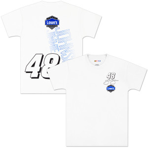 Jimmie Johnson Lowes Loud Flag T-shirt