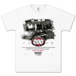 Jimmie Johnson #48 HMS 200th Win Team T-shirt