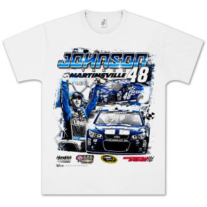 Jimmie Johnson 2013 Martinsville Win T-shirt